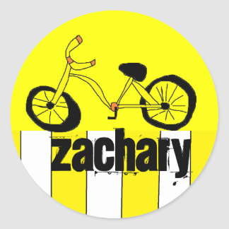 Personalized Bicycle Sticker