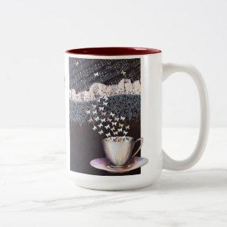 Personalized Big 2-tones Mug Vienna Coffee