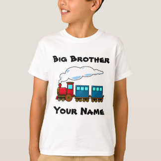 Personalized big brother train T-Shirt