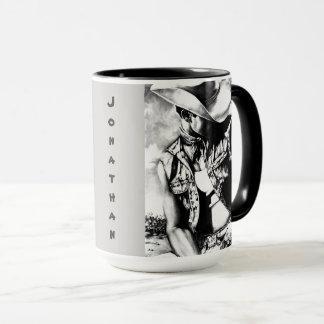 "Personalized Big Mugs ""Fine Art Cowboy & Country"""