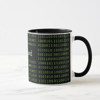 Personalized Binary Code Mug