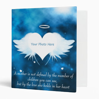 Personalized Binder/Photo Album-Angel of the Heart Vinyl Binders