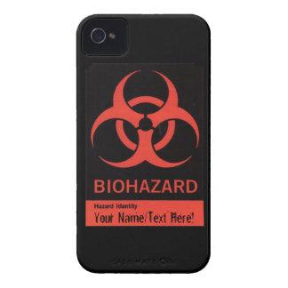 Personalized BioHazard Warning iPhone 4 Case