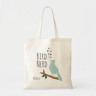Personalized Bird Nerd Tote