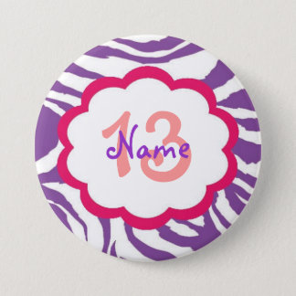 Personalized Birthday Button