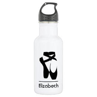 Personalized Black Ballet Shoes En Pointe