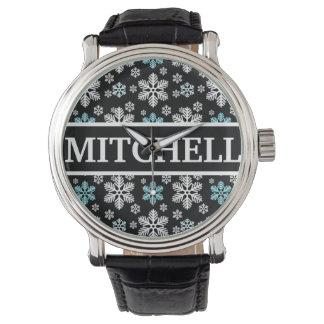 Personalized Black Blizzard Watch