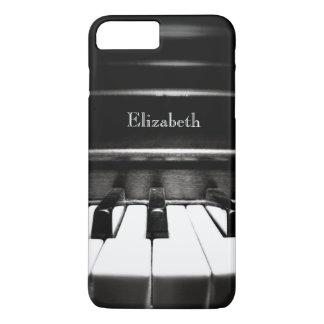 Personalized Black Piano iPhone 7 Plus Case