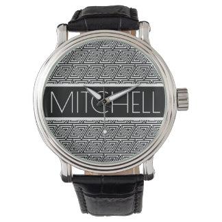 Personalized Black POTP Watch