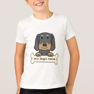 Personalized Black & Tan Coonhound T-Shirt