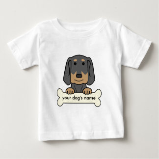 Personalized Black & Tan Coonhound T-shirts