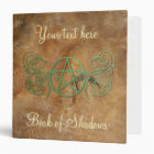 Personalized Book of Shadows 3 Ring Binder