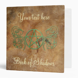 Personalized Book of Shadows Vinyl Binder