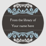 Personalized Bookplates - Colourful Flourishes
