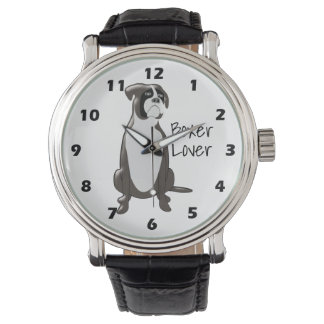 Personalized Boxer Design Watch