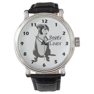 Personalized Boxer Design Wrist Watch