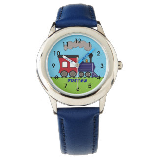 Personalized Boys Train Choo Choo Watch by CBendel