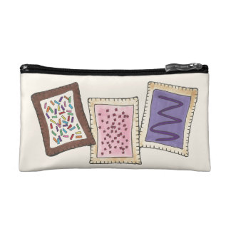 Personalized Breakfast Pastry Baker Chef Foodie Makeup Bag