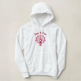 Personalized Breast Cancer Ribbon Tree Sweatshirt