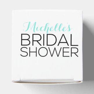 Personalized Bridal Shower Favor Favor Box