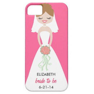 Personalized Bride iPhone 5 Case-Mate Barely There