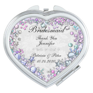 Personalized Bridesmaid Vanity Mirror
