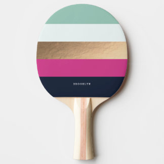Personalized | Bright Heues Ping Pong Paddle