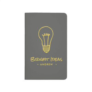 Personalized Bright Ideas Notebook