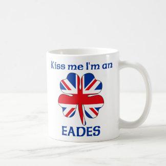 Personalized British Kiss Me I'm Eades Coffee Mug