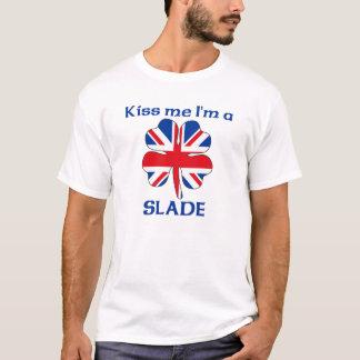 Personalized British Kiss Me I'm Slade T-Shirt