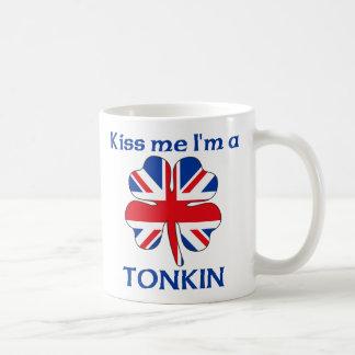 Personalized British Kiss Me I'm Tonkin Classic White Coffee Mug