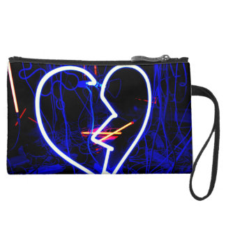 Personalized Broken Heart Wristlet
