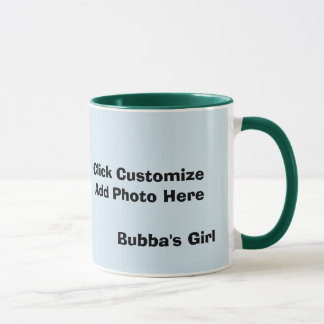 Personalized Bubbas Girl Mug
