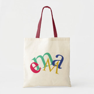 "Personalized Budget Tote - ""Emma"""