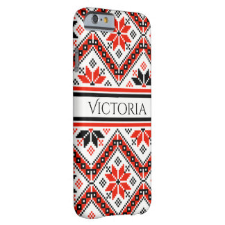 Personalized Bulgarian Art Barely There iPhone 6 Case