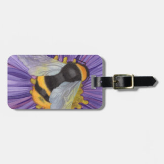 Personalized Bumblebee Luggage Tag
