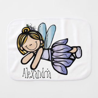 Personalized/Burp Cloth/Fairy Burp Cloth