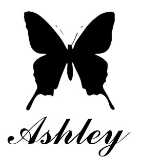 Personalized Butterfly Stamp With Name