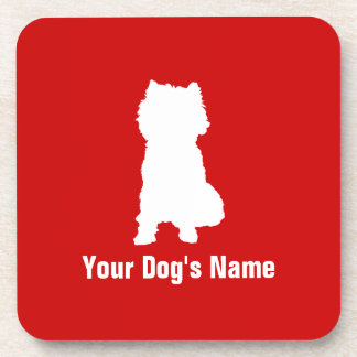 Personalized Cairn Terrier ケアーン・テリア Coaster