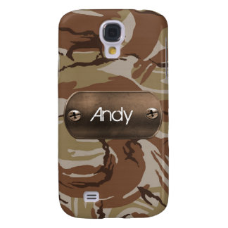 personalized camo army brown