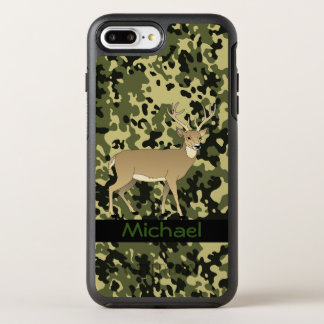 Personalized Camouflage OtterBox Symmetry iPhone 7 Plus Case