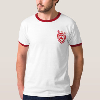 Personalized Canada Sport Jersey Ringer T-Shirt