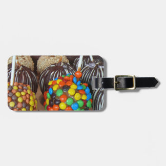 Personalized Candy Apples Bag Tag