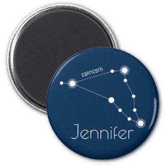 Personalized Capricorn Zodiac Constellation Magnet