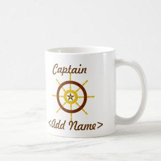 Personalized Captain Mug