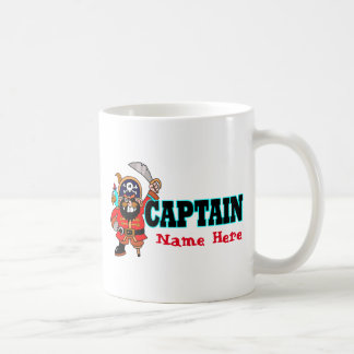 Personalized Captain's coffee / drink Pirate mug