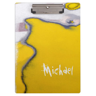 Personalized Car Paint Peeling Art Clipboard