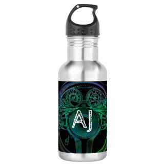 Personalized Car Themed Design 532 Ml Water Bottle