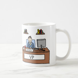 Personalized cartoon mug- VP Coffee Mug