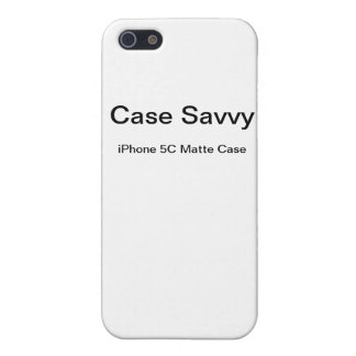 Personalized Case-Savvy iPhone 5C Matte Case iPhone 5/5S Case